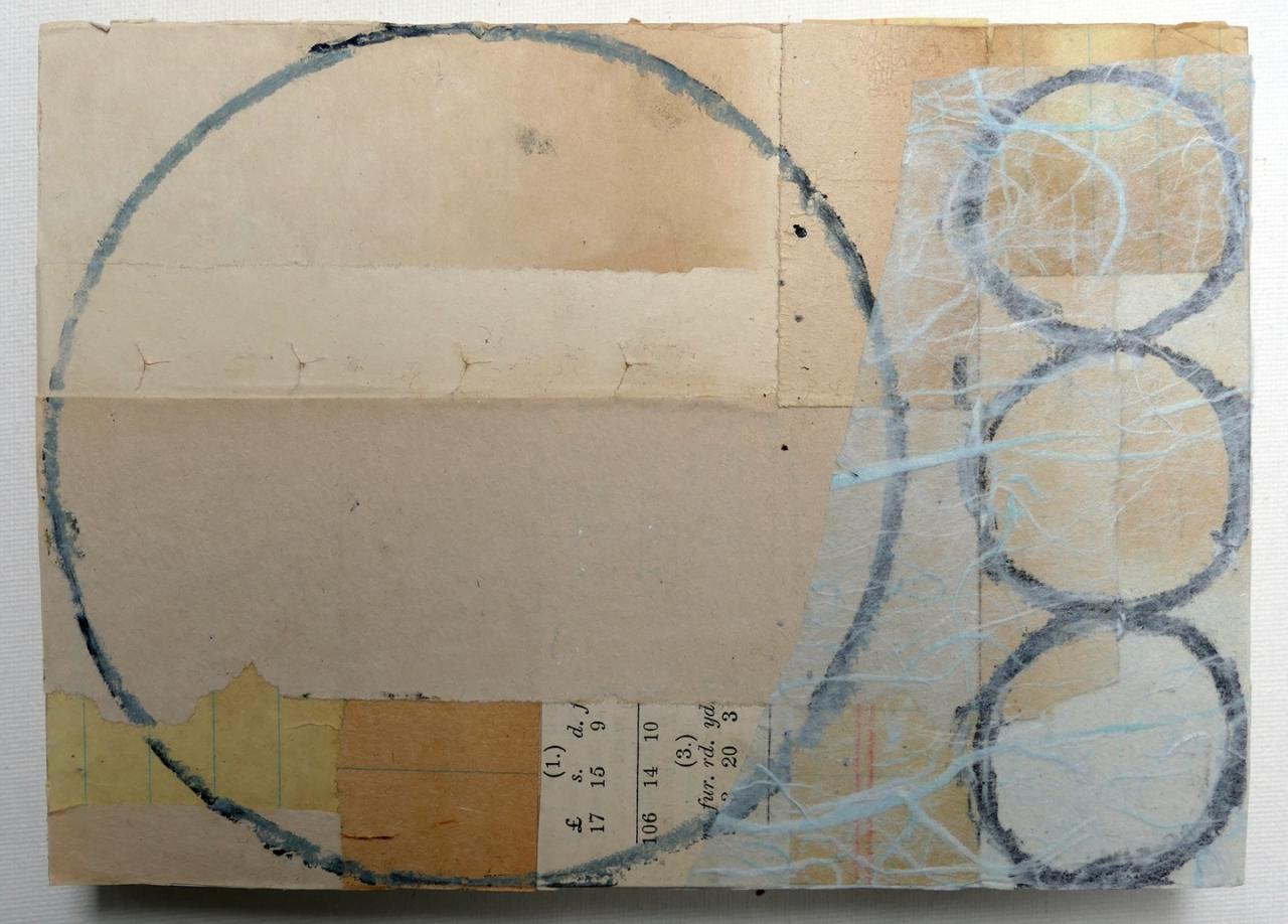 untitled 7x5 on wood 2018 lo